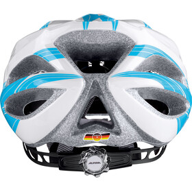 Alpina FB Jr. 2.0 Helmet white-cyan